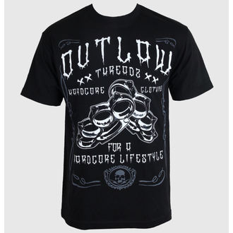 tričko pánské Outlaw Threadz - Hardcore, OUTLAW THREADZ