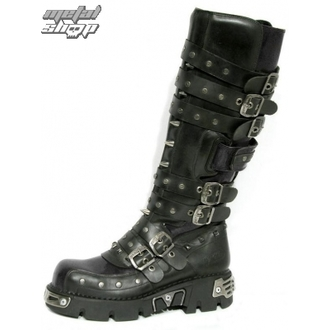 boty NEW ROCK - Rivet High Boots (796-S1) Black