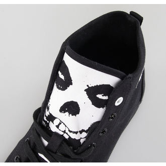 boty IRON FIST - Misfits High Top - Black - IFUVUL2007LIC