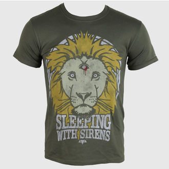 tričko pánské Sleeping With Sirens - Lion Crest - PLASTIC HEAD, PLASTIC HEAD, Sleeping With Sirens