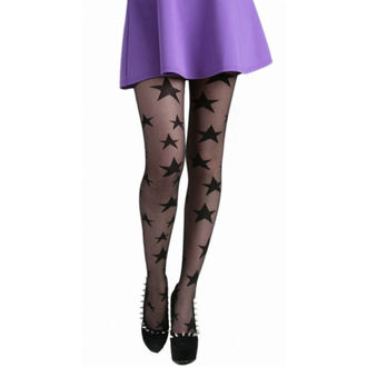 punčocháče PAMELA MANN - All Over Stars Sheer Tights - Black - 086