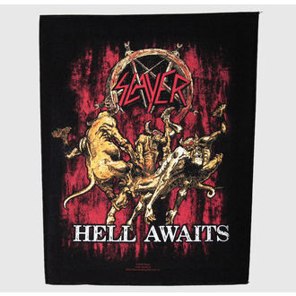 nášivka velká Slayer - Hell Awaits - RAZAMATAZ, RAZAMATAZ, Slayer