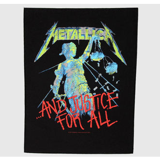 nášivka velká Metallica - And Justice For All - RAZAMATAZ, RAZAMATAZ, Metallica