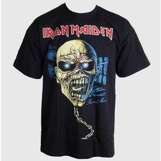 tričko pánské Iron Maiden - Piece of Mind Skull - ROCK OFF - IMTEE36MB