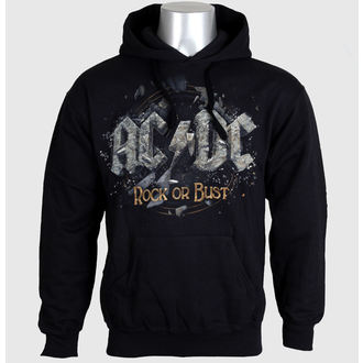 mikina pánská AC/DC - Rock Or Bust - Black - LIVE NATION - PE12106HSBP