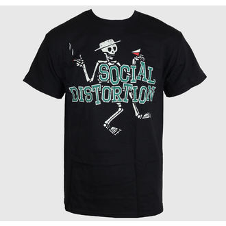 tričko pánské Social Distortion - Letterman Skully - BRAVADO, BRAVADO, Social Distortion