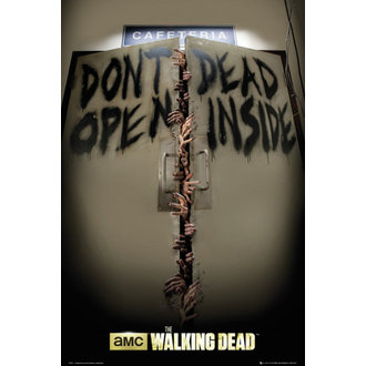 plakát The Walking Dead - Keep Out - GB Posters - FP3311