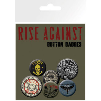 placky Rise Against - Shaking Hands - GB Posters - BP0504