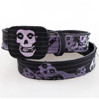 pásek Misfits - BIOWORLD - Black Leather, BIOWORLD, Misfits