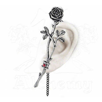 náušnice ALCHEMY GOTHIC - Chained Love Rose - E344