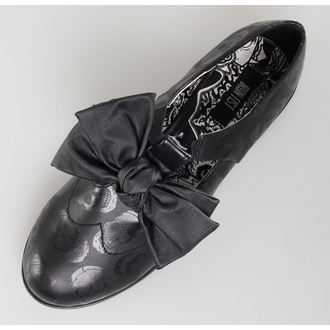 boty dámské IRON FIST - Ashes To Ashes Bow Oxford - BLK