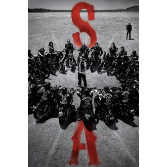 plakát Sons Of Anarchy - Circle - PYRAMID POSTERS, PYRAMID POSTERS