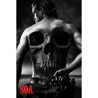 plakát Sons Of Anarchy - Skull - PYRAMID POSTERS, PYRAMID POSTERS