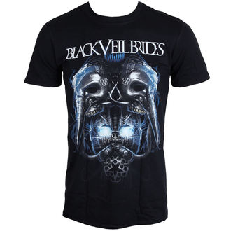 tričko pánské Black Veil Brides - Metal Mask - BLK -  LIVE NATION, LIVE NATION, Black Veil Brides