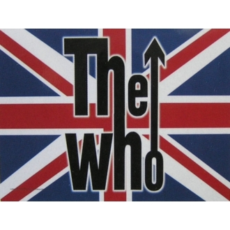 vlajka The Who - UK, HEART ROCK, Who