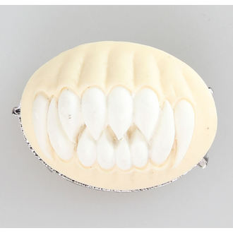 Brož RESTYLE - TEETH - white, RESTYLE