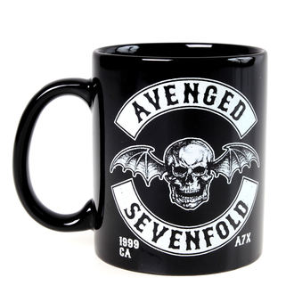 hrnek Avenged Sevenfold - Deathbat Crest - ROCK OFF, ROCK OFF, Avenged Sevenfold