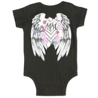 body dětské METAL MULISHA - Sweet Beauty - BLK