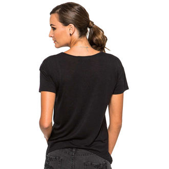 tričko dámské METAL MULISHA - Run Around Me - BLK