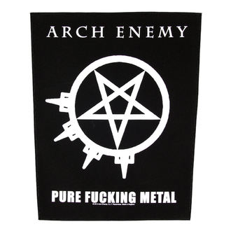 nášivka velká Arch Enemy - Pure Fucking Metal - RAZAMATAZ, RAZAMATAZ, Arch Enemy