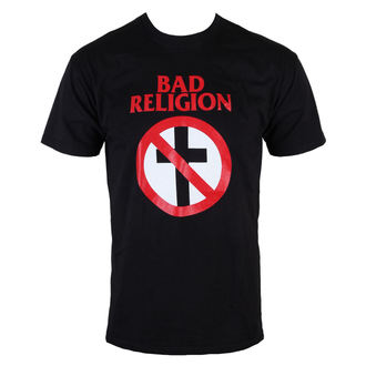 tričko pánské Bad Religion - Cross Buster - Black - KINGS ROAD, KINGS ROAD, Bad Religion