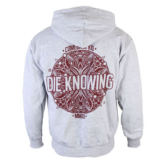 mikina pánská Comeback Kid - Mandala - Heather Gray - KINGS ROAD - 57568