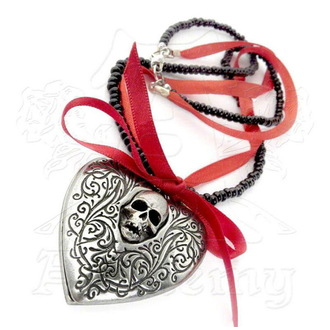 obojek ALCHEMY GOTHIC - The Reliquary Heart Locket, ALCHEMY GOTHIC