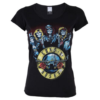 tričko dámské Guns´n Roses - Skeletor - BLK - AMPLIFIED - AV601GSK