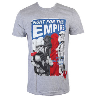tričko pánské Star Wars - Fight For The Empire - Charcoal - INDIEGO - Indie0254