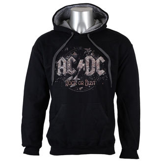 mikina pánská AC/DC - Rock or Bust  - GREY -  LOW FREQUENCY - ACHO05003