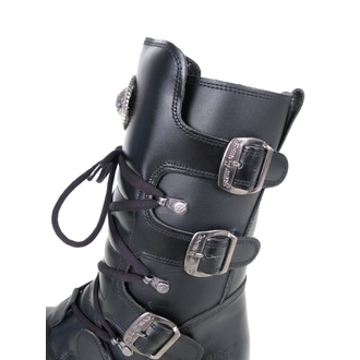 boty NEW ROCK - Flat Classic Boot (1473-S1) Black