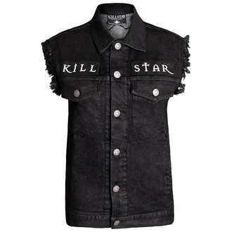 vesta (unisex) KILLSTAR - Kali - Denim, KILLSTAR