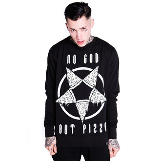mikina (unisex) KILLSTAR - Pizzagram - Black - KIL226