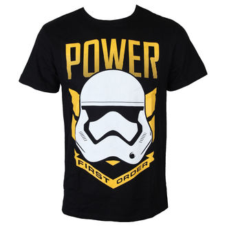 tričko pánské Star Wars - Trooper Power - Black - LEGEND - MESWSTOTS149