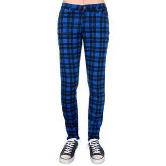kalhoty (unisex) 3RDAND56th - Checked - Black/Royal, 3RDAND56th