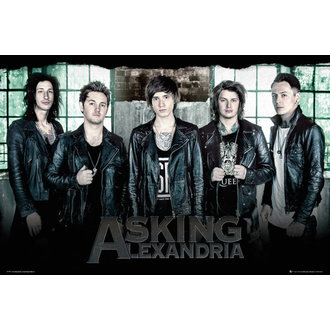 plakát Asking Alexandria - Window - GB posters, GB posters, Asking Alexandria