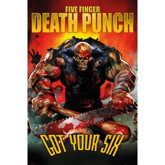 plakát Five Finger Death Punch - Got Your Six - GB posters, GB posters