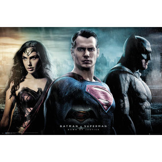 plakát Batman Vs Superman - City - GB posters, GB posters