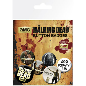 placky The Walking Dead - GB Posters - BP0473