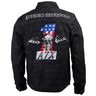 bunda pánská Avenged Sevenfold - No. 1 Denim - BRAVADO, BRAVADO, Avenged Sevenfold