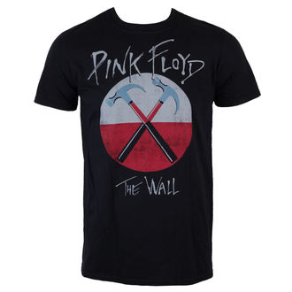 tričko pánské Pink Floyd - The Wall Logo - Black - LIVE NATION - PE13442TSBP