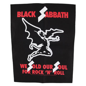 nášivka BLACK SABBATH - WE SOLD OUR SOULS - RAZAMATAZ, RAZAMATAZ, Black Sabbath