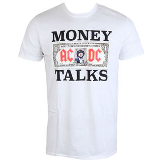 tričko pánské AC/DC - Money Talks - LOW FREQUENCY - White, LOW FREQUENCY, AC-DC