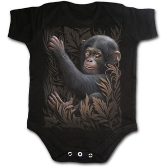 dětské body SPIRAL - Monkey Business - Black - F031K002