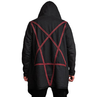 mikina (unisex) AMENOMEN - Pentagram - Red, AMENOMEN