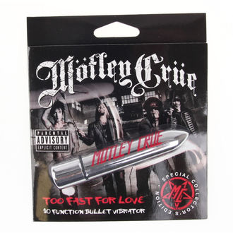 vibrátor Motley Crue - Too Fast For Love 10 - PLATIC HEAD