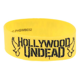 náramek gumový Hollywood Undead - Mirror - Doves Yellow - PLASTIC HEAD, PLASTIC HEAD, Hollywood Undead
