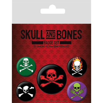 placky Skull and Bones - BP80468