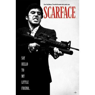 plakát Scarface - Say Hello To My Little Friend - PP32598