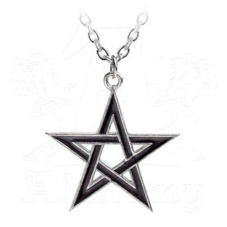 obojek ALCHEMY GOTHIC - Black Star - P775